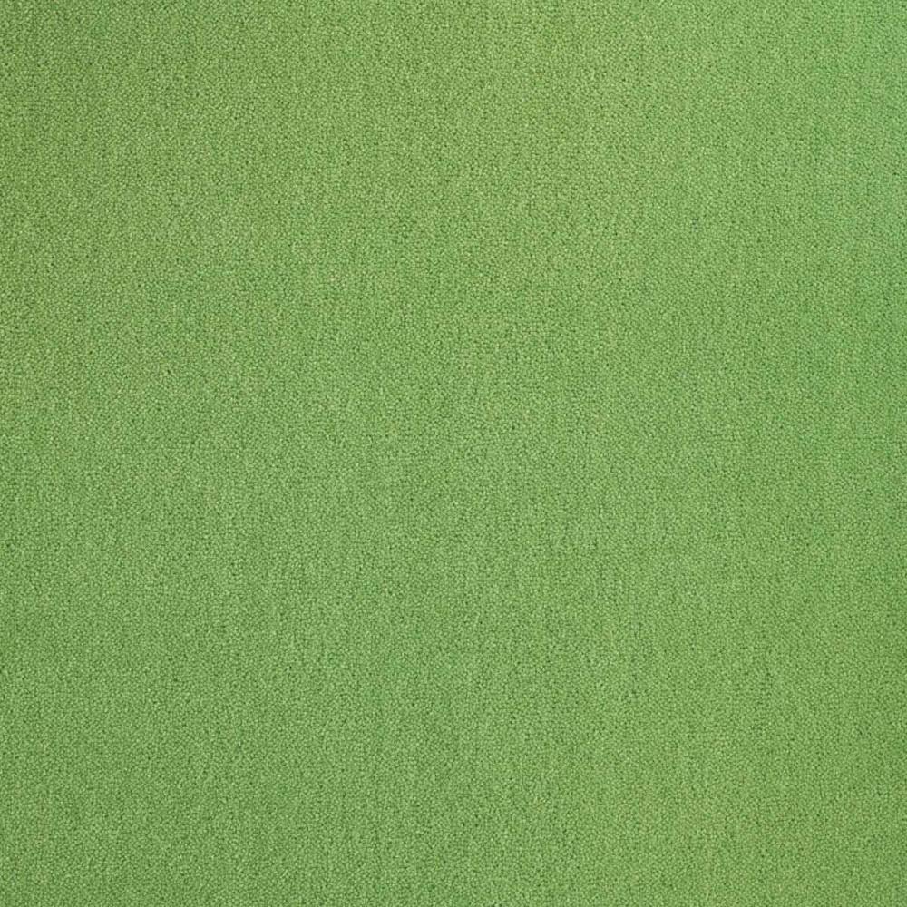 Moquette Prestige vert pistache en laine naturelle