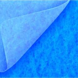 Moquette bleu dur