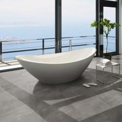 dalle pvc gris à clipser salle de bain