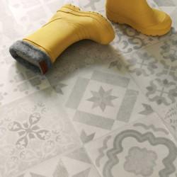 Vinyle carreaux ciment tendance