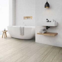 Sol pvc imitation pierre pour salle de bain