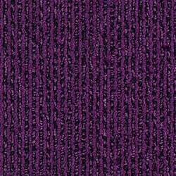 Moquette en dalle bandes violettes foncées