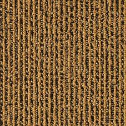 Dalle de moquette à rayure jaune foncé