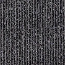 Moquette dalle à rayure grise