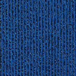 Moquette dalle synthétique rayure bleue