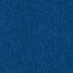 Moquette moelleuse bleue confort