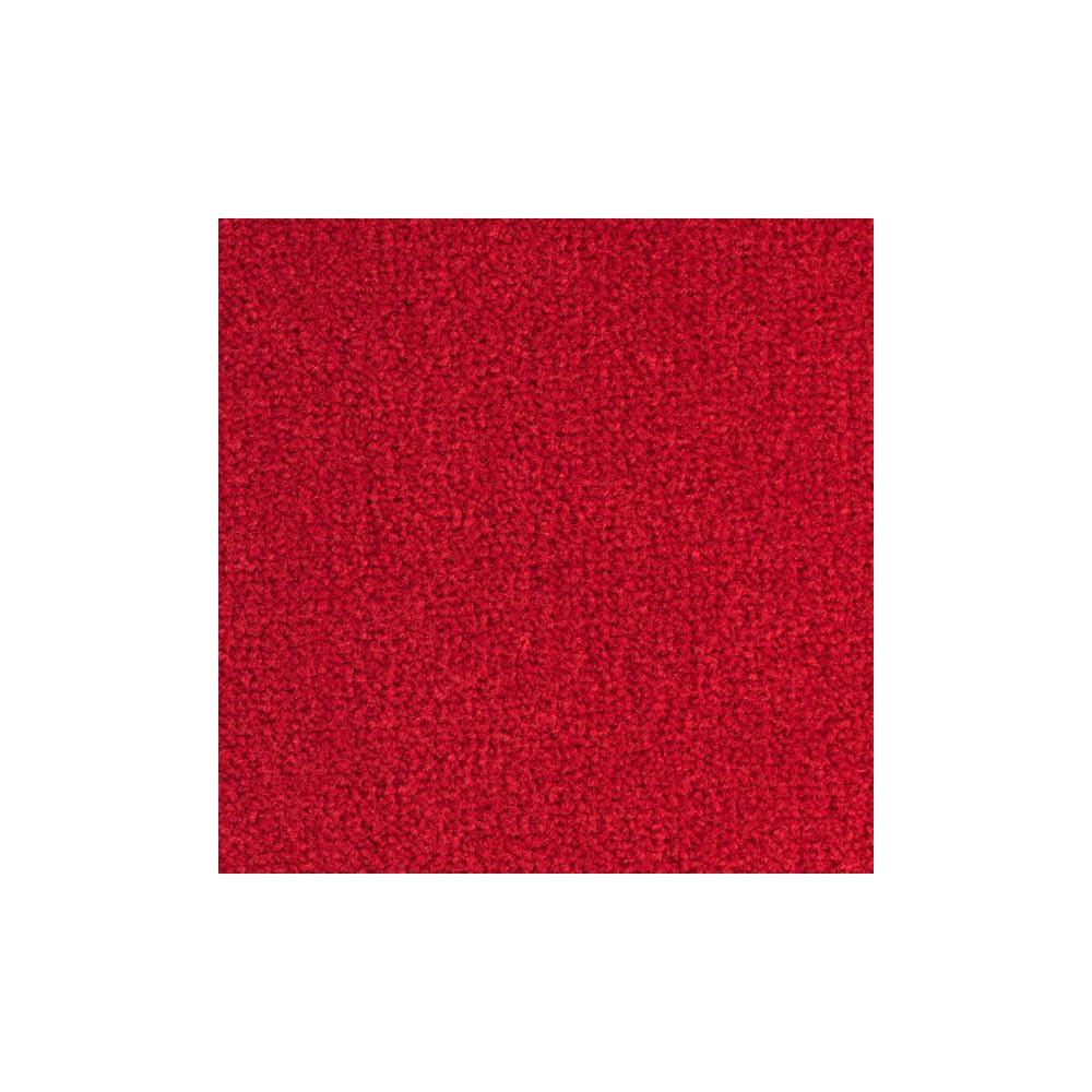 Moquette moelleuse et résistante rouge, collection Elite