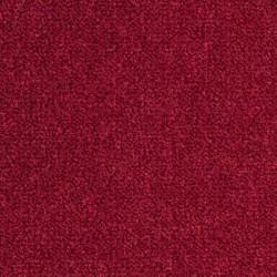 Moquette confortable ultra résistante rouge foncé