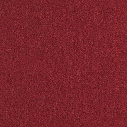 Moquette collection Prestige en laine teinte rouge sang