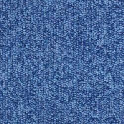 Moquette bleue usage intensif professionnel peu épaisse