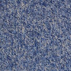 Moquette bleue résistante et peu épaisse pour professionnel