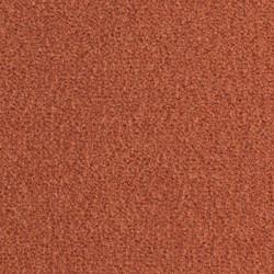 Moquette en laine coloris rouge orangé de la collection Prestige