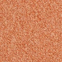Moquette orange résistante pour usage professionnel