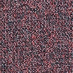 Moquette noire et rouge ultra résistante pour les professionnels
