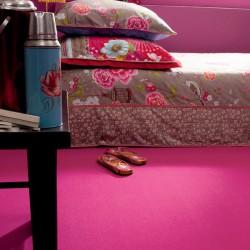 Ambiance moquette Confort rose fuchsia moelleuse pour particulier et professionnel