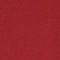 Moquette rouge foncé synthétique très confortable