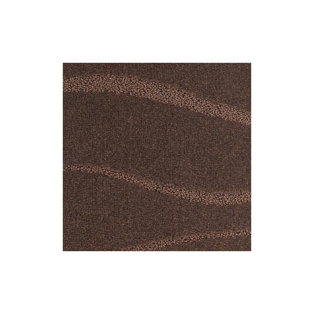Moquette marron chocolat très bon confort, traitée contre les bactériens  sur le site Moquette Avenue