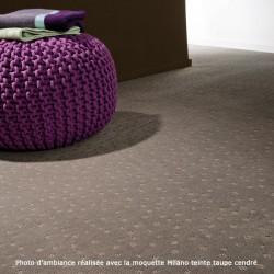 Moquette gris perle grand confort, collection Milano