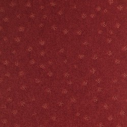 Moquette rouge garance, collection Milano