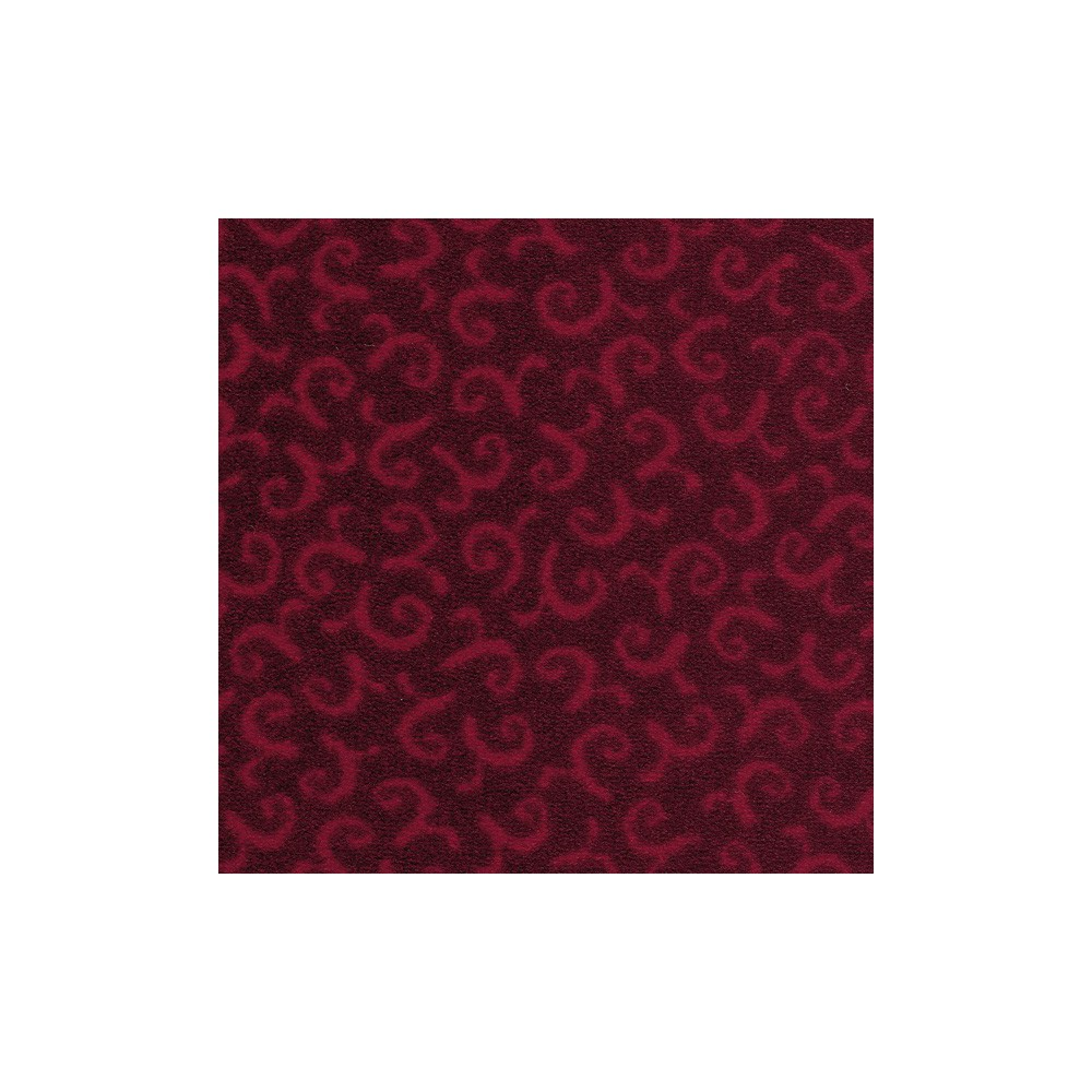 Moquette rouge grenade, collection Melody