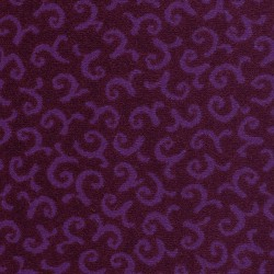 Moquette violet pourpre, collection Melody