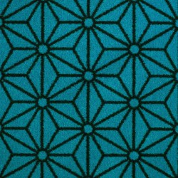 Moquette bleu turquoise, collection Goma