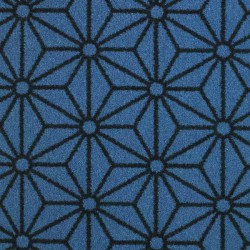 Moquette bleu denim, collection Goma