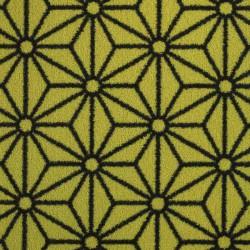 Moquette verte citron, collection Goma