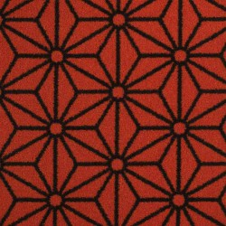 Moquette orange intense, collection Goma