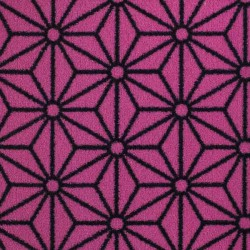 Moquette rose bonbon, collection Goma