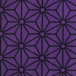Moquette violet intense, collection Goma