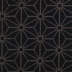 Moquette noire intense, collection Goma