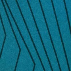 Moquette bleu intense, collection Oasis