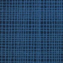 Moquette bleu foncé déco, collection Tanza