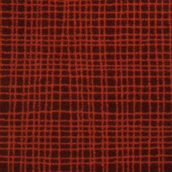 Moquette orange rayée, collection Tanza