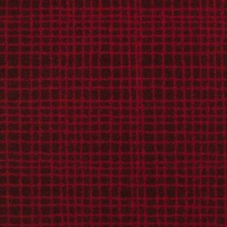 Moquette rouge grenade, collection Tanza