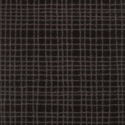 Moquette noire rayée taupe, collection Tanza
