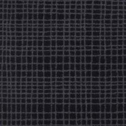 Moquette noire à rayures grises, collection Tanza
