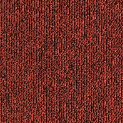Dalle de moquette rouge brique, collection Town