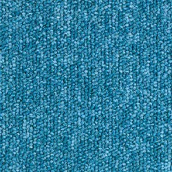Dalle moquette bleu turquoise, collection Sunny