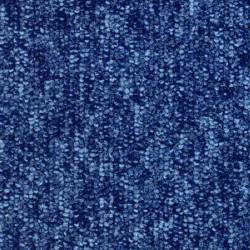 Dalle moquette bleu intense, collection Sunny