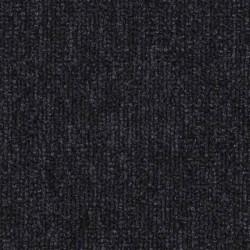 Dalle moquette synthétique noire, collection Urban