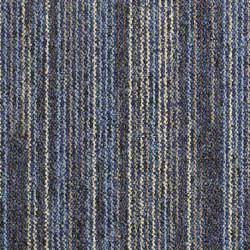 Dalle de moquette bleue, collection Nature