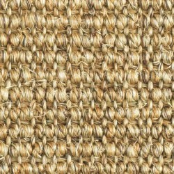 Moquette naturelle sisal, coloris jaune orange