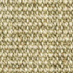 Moquette naturelle sisal de couleur jaune naturel