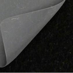 Moquette noire avec film de protection, pour stand évènementiel