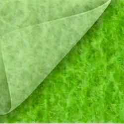 Moquette évènementielle verte, pas chère, avec film de protection