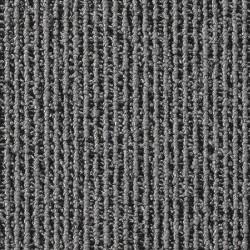 Dalle de moquette bouclée grise et pointes noires