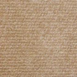 Moquette stand, aiguilletée beige - 4m largeur