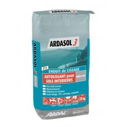 Enduit de lissage autolissant - Ardasol 3 - 25kg Bostik